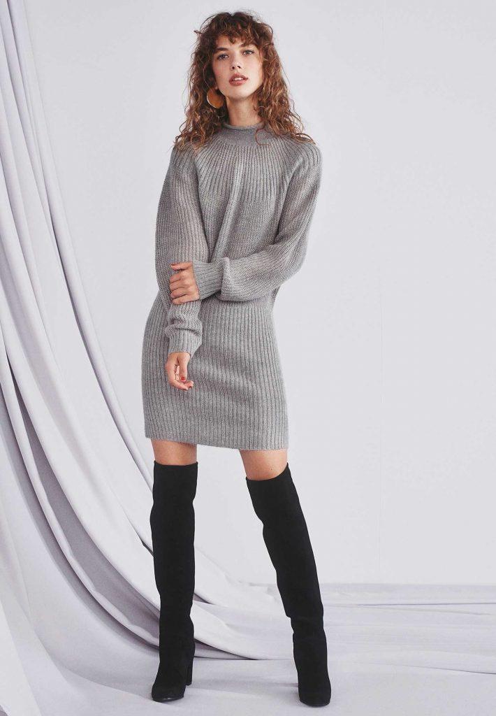 reputable site 2abdf ada97 Einfach Winterkleider Lang Stylish - Abendkleid