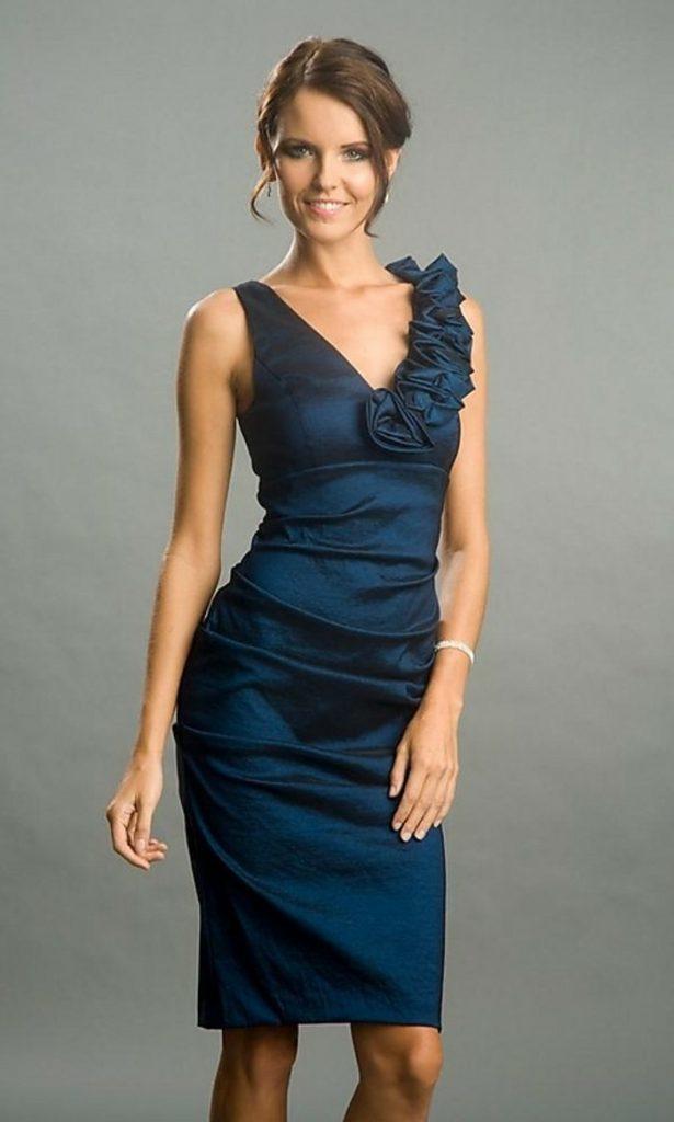 einzigartig kleid hellblau kurz spezialgebiet - abendkleid