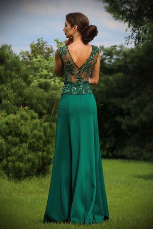 Perfekt Abendkleid Grün GalerieDesigner Großartig Abendkleid Grün Ärmel