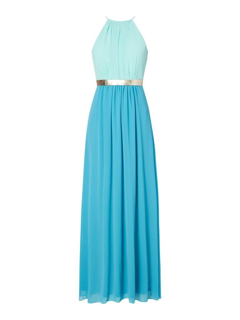 Elegant Abendkleid Türkis Vertrieb - Abendkleid