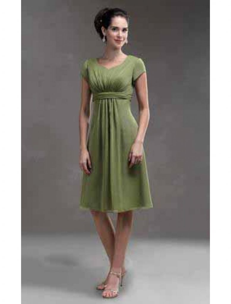 Erstaunlich Grünes Kurzes Kleid Bester Preis - Abendkleid