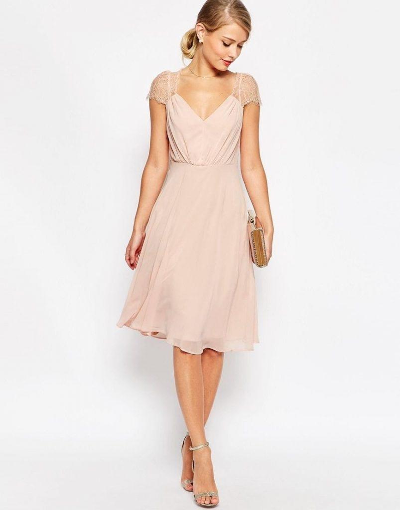 Fantastisch Abendkleider Midi Armel Abendkleid