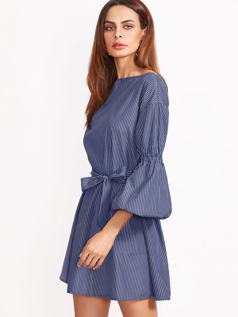 Fantastisch Kleid Blau Kurz Boutique - Abendkleid