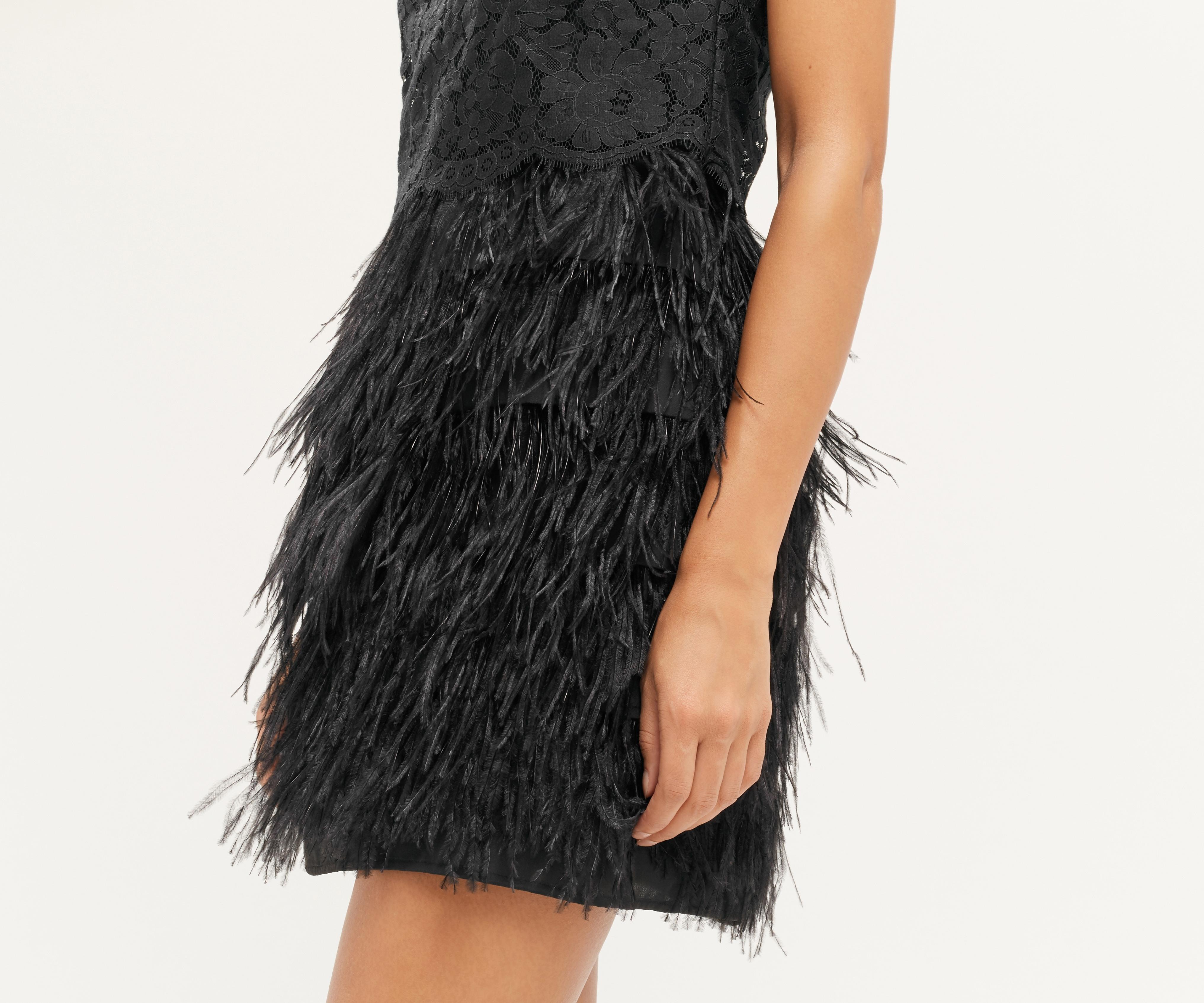 Fantastisch Kleid Mit Federn Boutique - Abendkleid