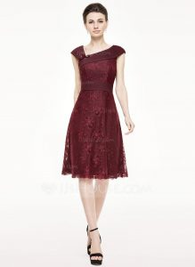 Designer Elegant Schicke Kleider Knielang BoutiqueAbend Schön Schicke Kleider Knielang für 2019