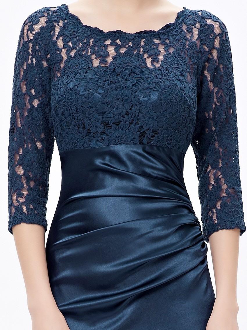 17 Elegant Blaues Kleid Mit Ärmeln Galerie20 Luxurius Blaues Kleid Mit Ärmeln für 2019