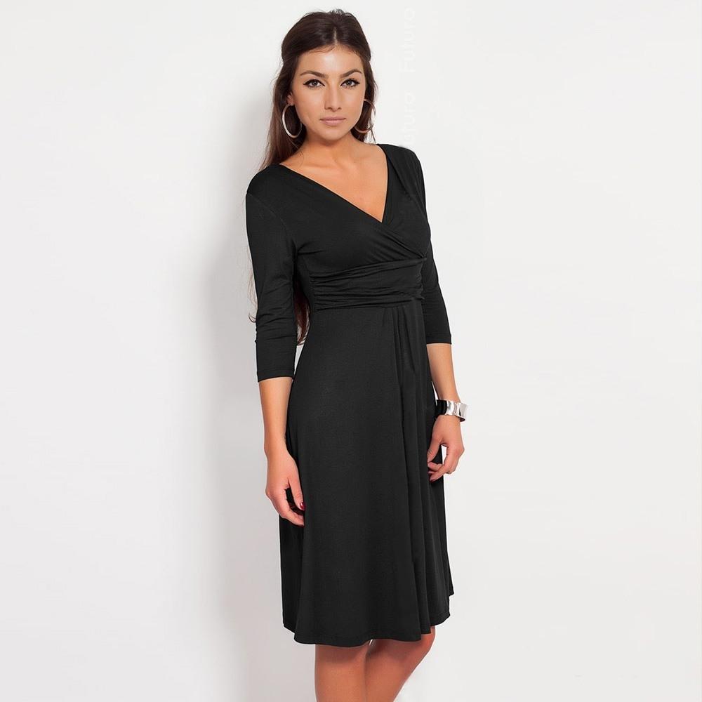 15 Luxurius Kleid Knielang Schwarz Bester Preis10 Einzigartig Kleid Knielang Schwarz Design