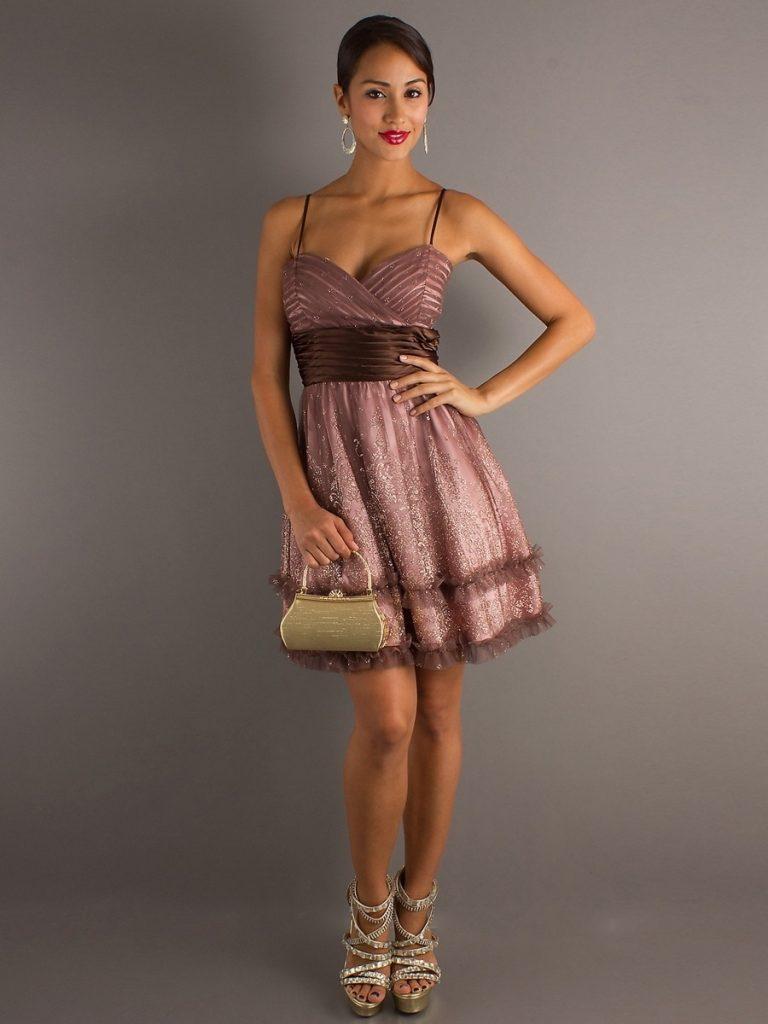 formal ausgezeichnet kurze kleider für hochzeitsgäste Ärmel