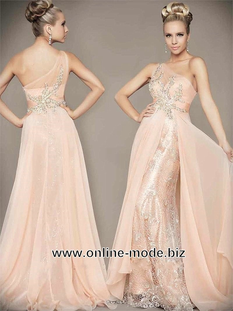 Formal Coolste Abendkleid Beige Lang für 2019Formal Großartig Abendkleid Beige Lang Stylish