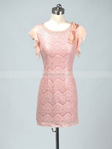Luxus Rosa Kleid Mit Spitze SpezialgebietAbend Spektakulär Rosa Kleid Mit Spitze Spezialgebiet