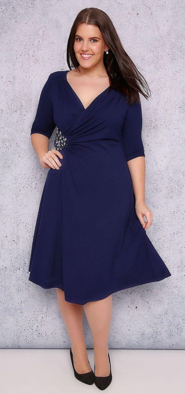 Formal Coolste Blaue Kleider Hochzeit Ärmel - Abendkleid