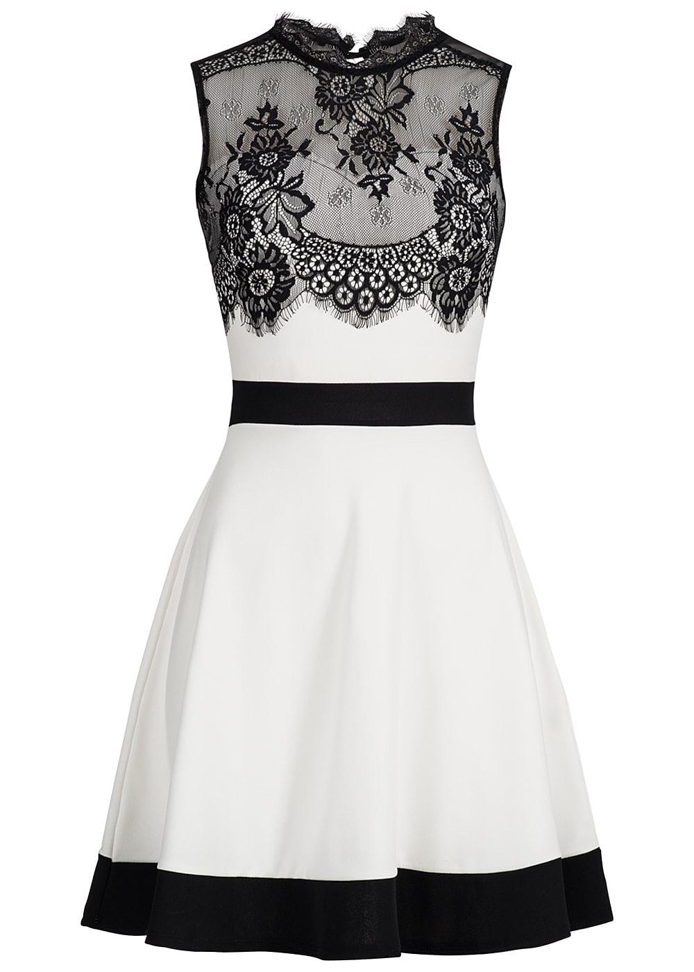 Abend Luxus Damen Kleid Schwarz Weiß Vertrieb10 Elegant Damen Kleid Schwarz Weiß Ärmel