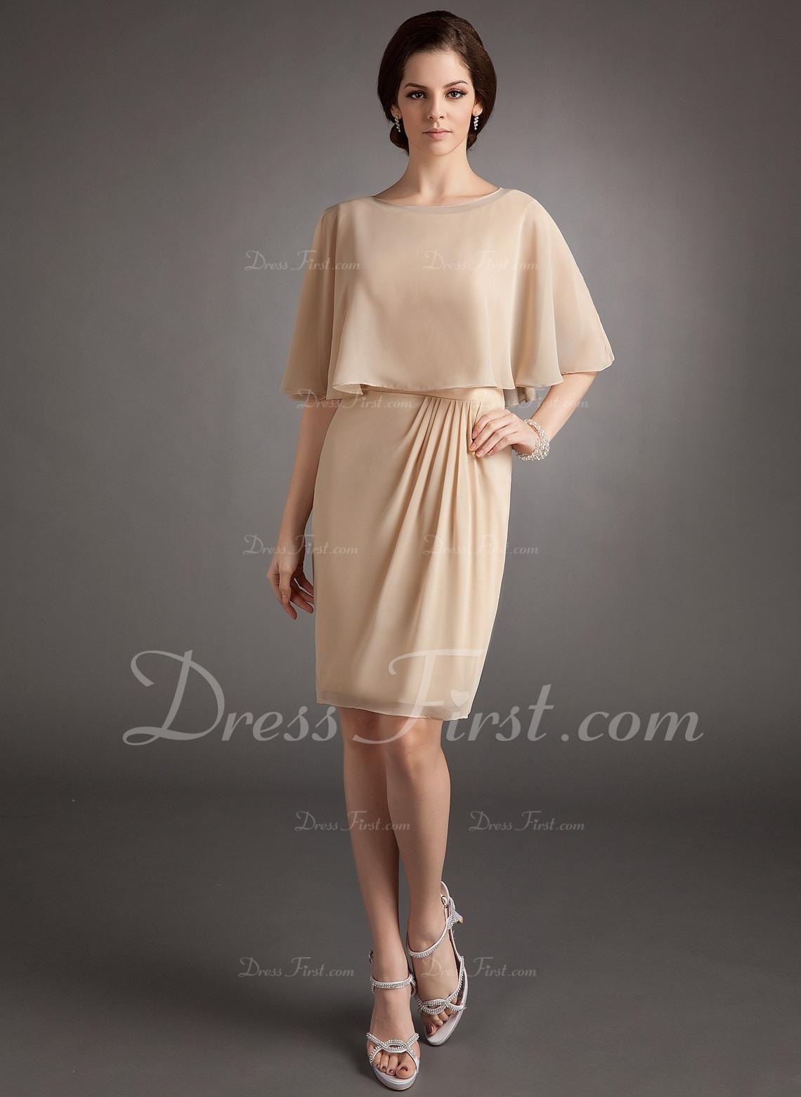 10 Kreativ Kleider Für Brautmutter Knielang ÄrmelFormal Cool Kleider Für Brautmutter Knielang Ärmel