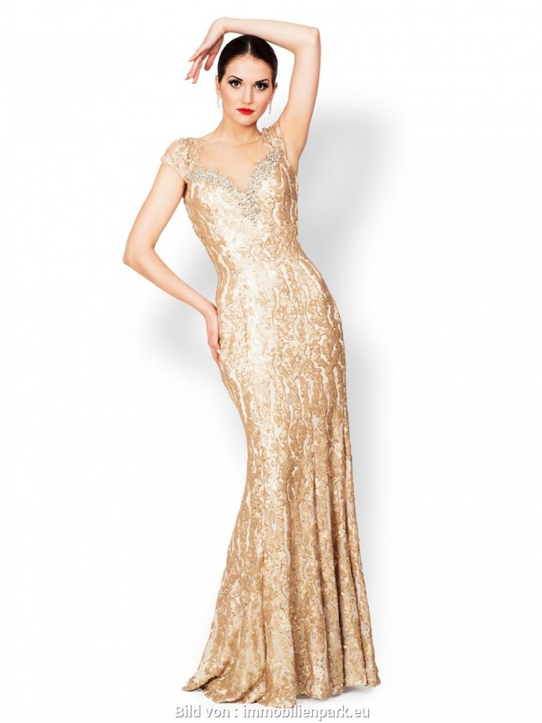 Formal Einfach Abendkleid Gold Design - Abendkleid