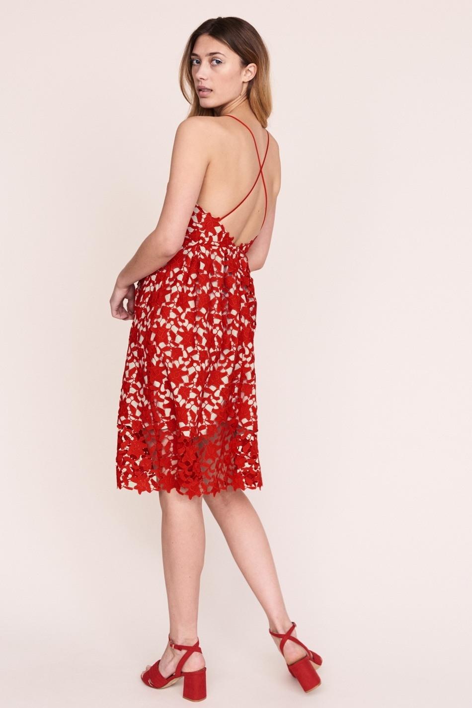 15 Luxus Spitzenkleid Rot Galerie Spektakulär Spitzenkleid Rot Stylish