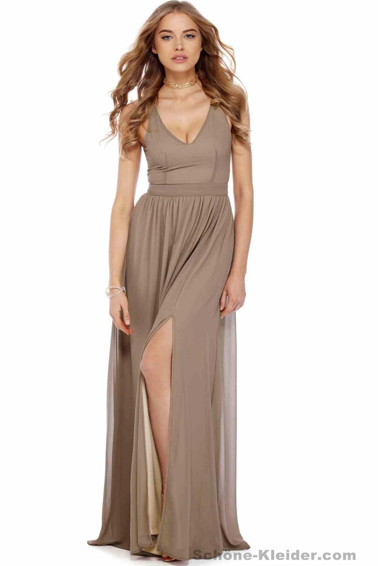 Abend Leicht Schöne Kleider Lang ÄrmelDesigner Einfach Schöne Kleider Lang Spezialgebiet