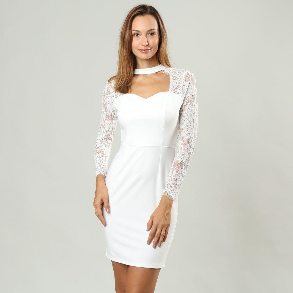 formal fantastisch schicke kleider mit Ärmel boutique