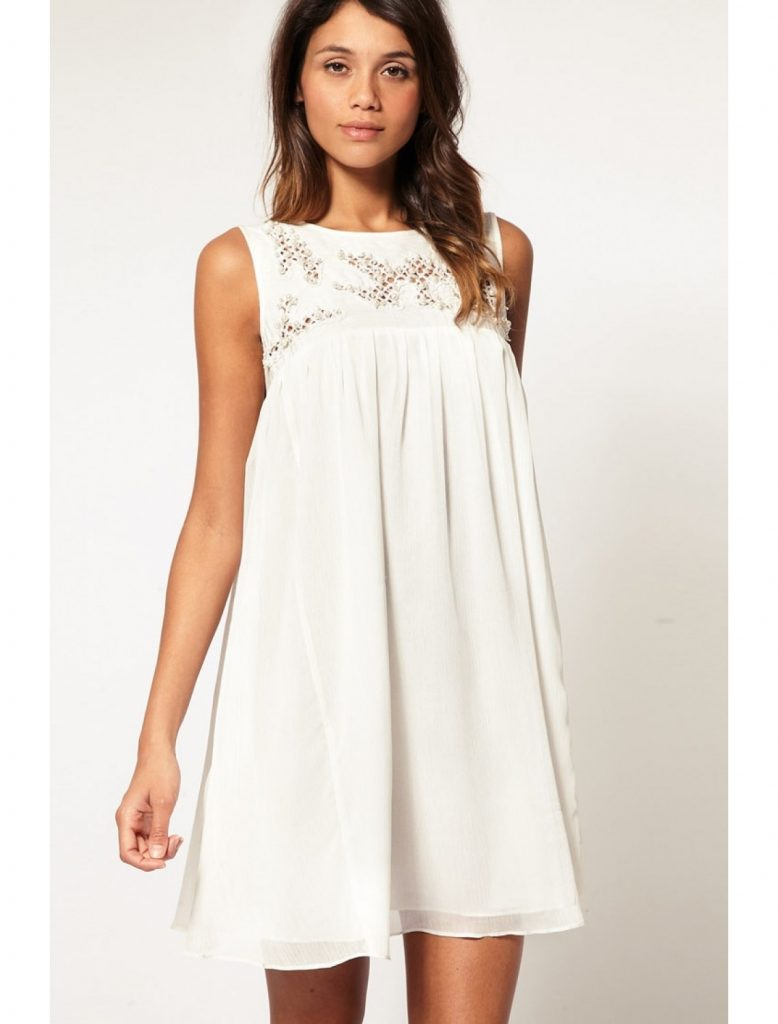 formal fantastisch weißes kleid kurz boutique - abendkleid