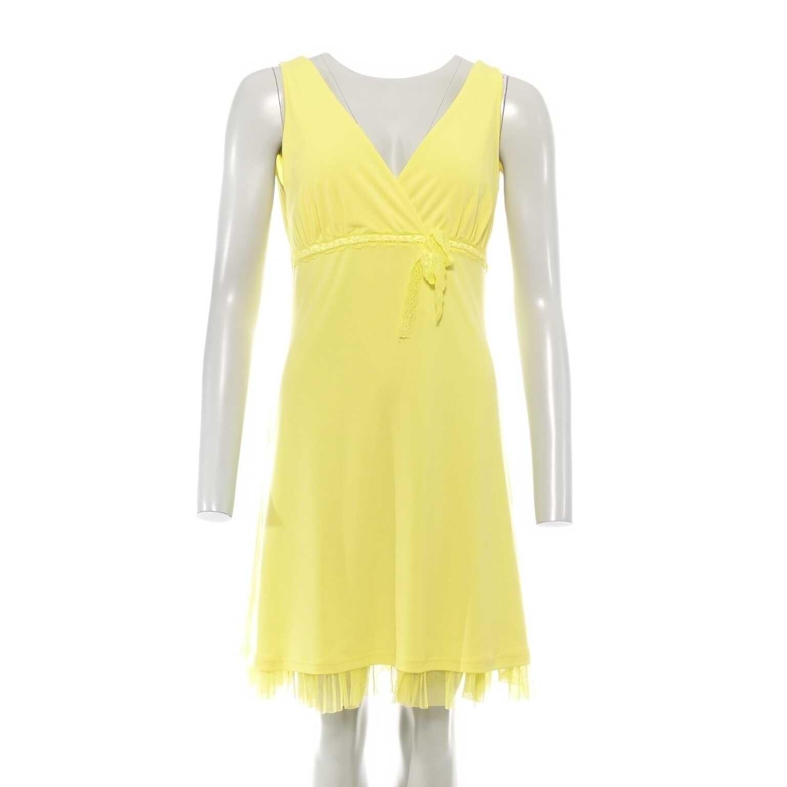 10 Schön Kleid Gelb Design17 Leicht Kleid Gelb Ärmel