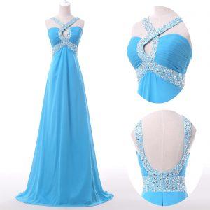 Abend Genial Kleid Lang Blau Boutique Luxurius Kleid Lang Blau für 2019
