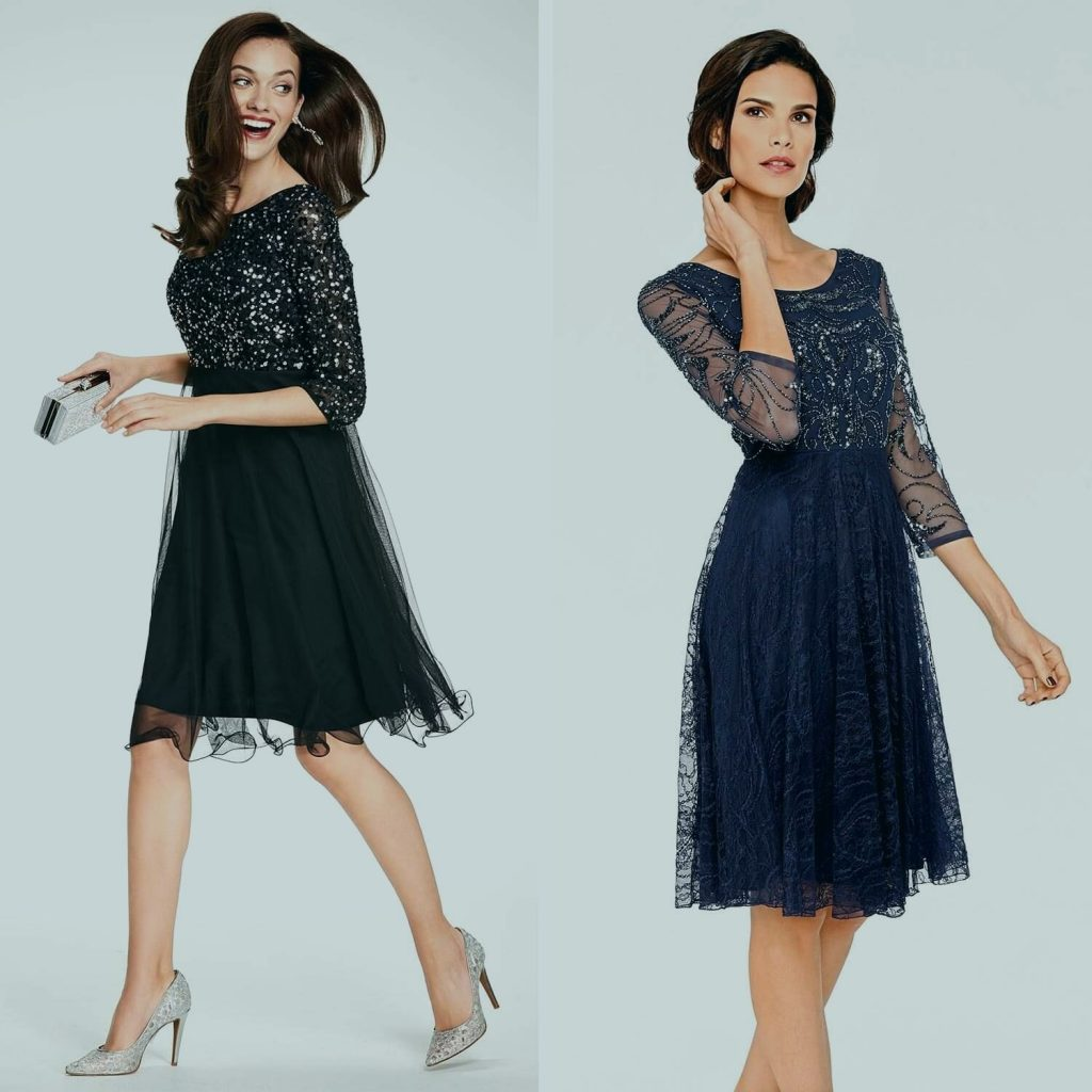 formal genial schwarzes kleid auf hochzeit stylish - abendkleid
