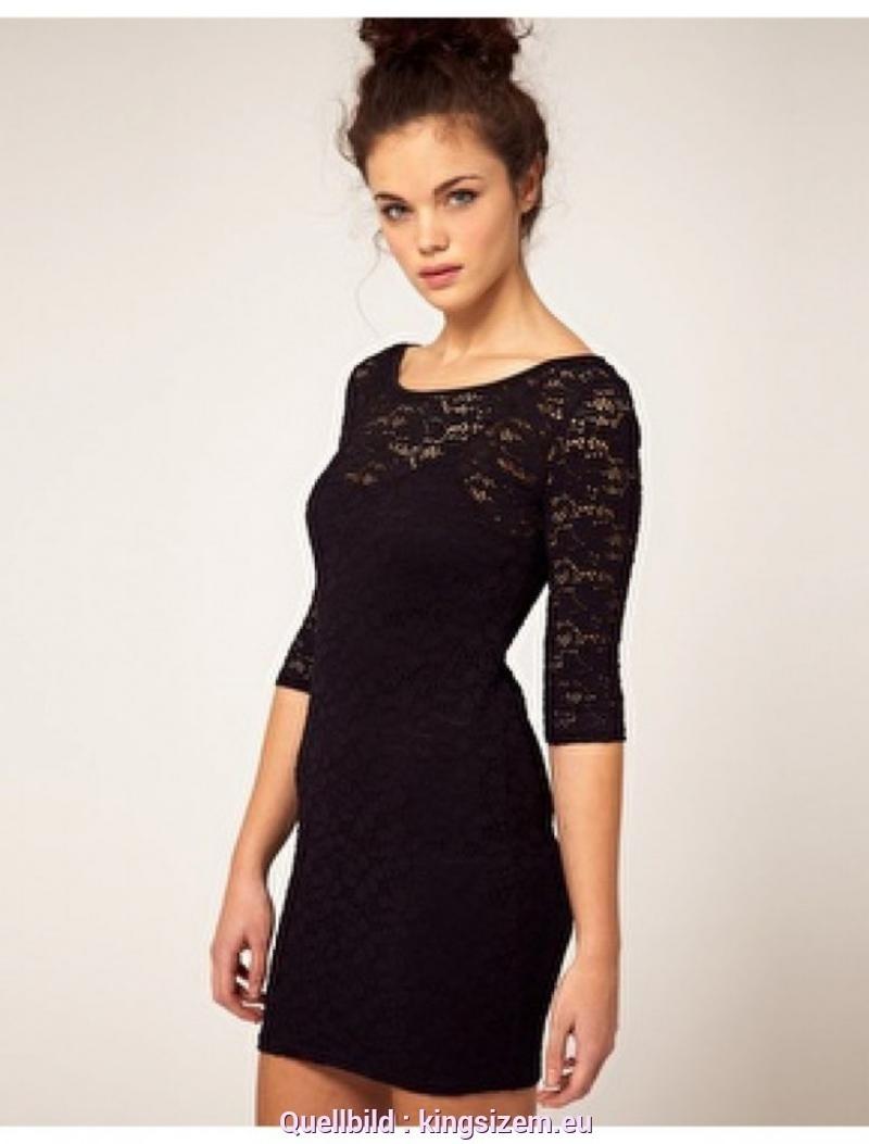 20 Top Schwarzes Kleid Spitze für 201910 Wunderbar Schwarzes Kleid Spitze Ärmel