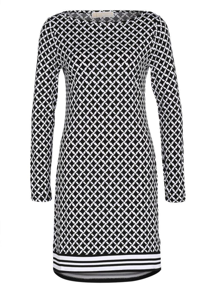 Formal Großartig Damen Kleid Schwarz Weiß Vertrieb ...
