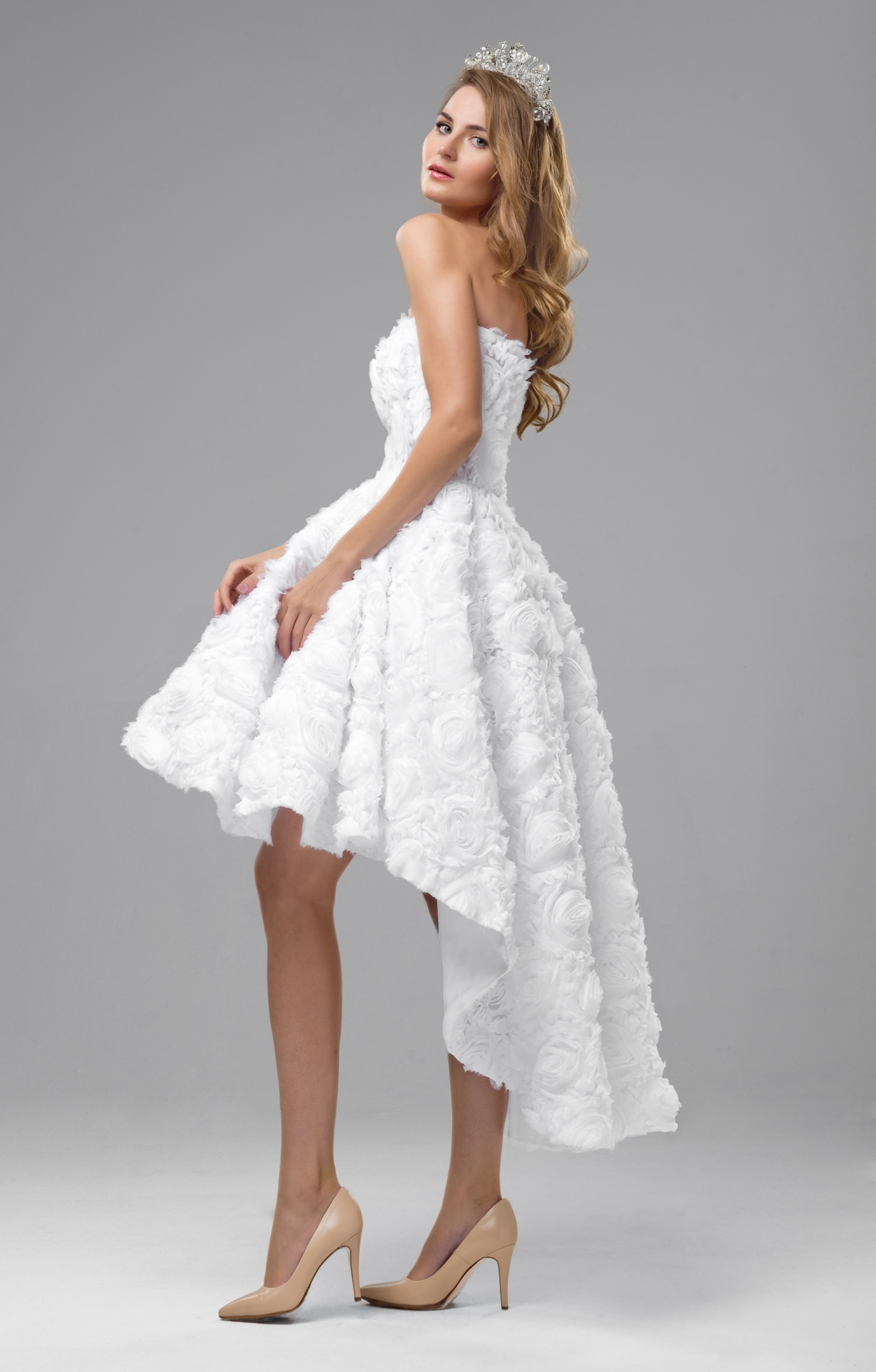 Schön Strandkleid Weiß Hochzeit für 2019Formal Perfekt Strandkleid Weiß Hochzeit Design