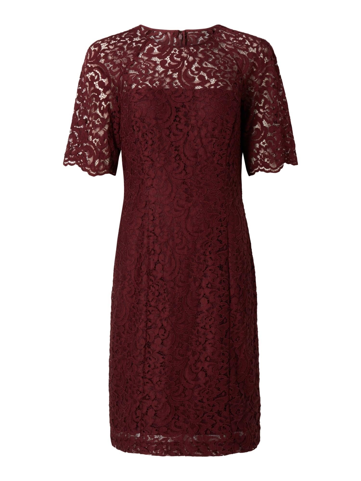 Designer Schön Bordeaux Kleid Spitze DesignDesigner Einzigartig Bordeaux Kleid Spitze Boutique