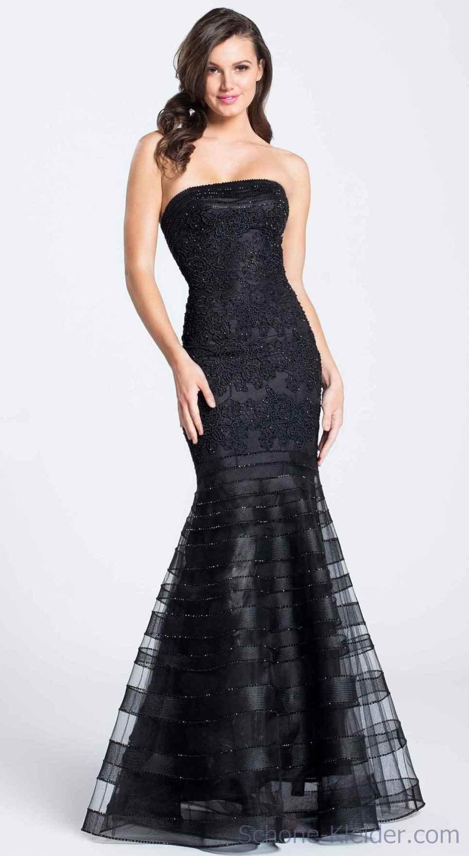 Abend Fantastisch Abendkleid Schwarz Lang Spitze StylishDesigner Genial Abendkleid Schwarz Lang Spitze Design