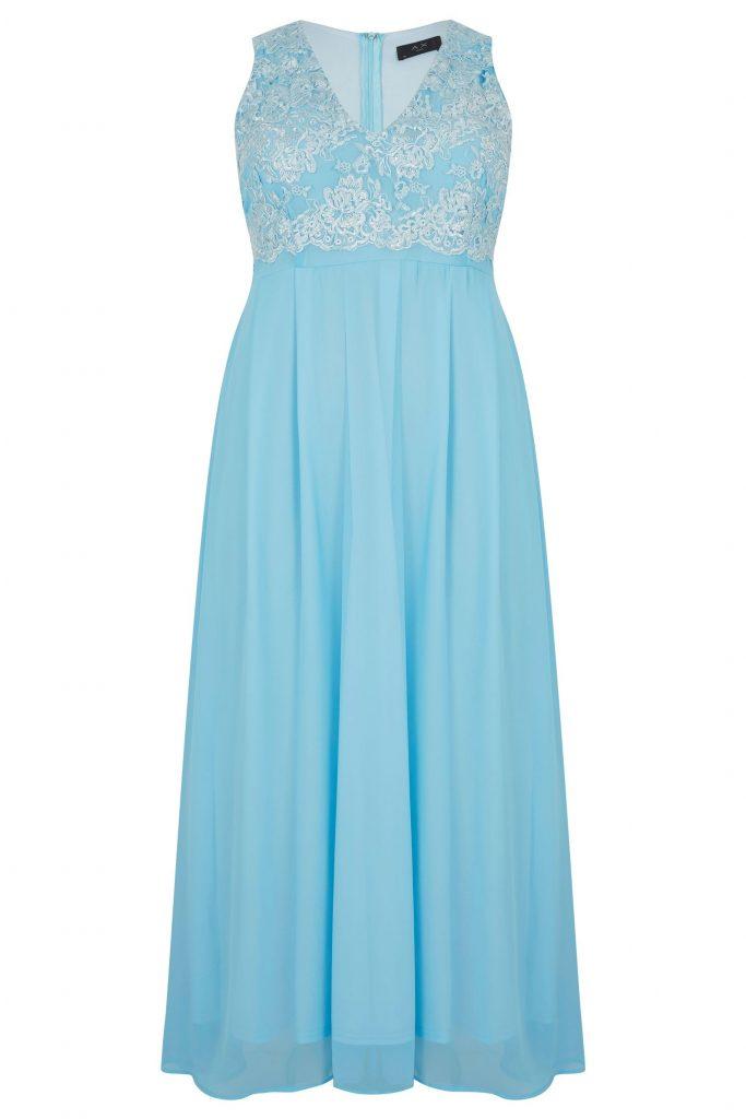 Formal Leicht Kleid Blau Glitzer Galerie - Abendkleid