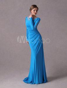 Abend Erstaunlich Kleid Blau Hochzeit Stylish Leicht Kleid Blau Hochzeit Spezialgebiet