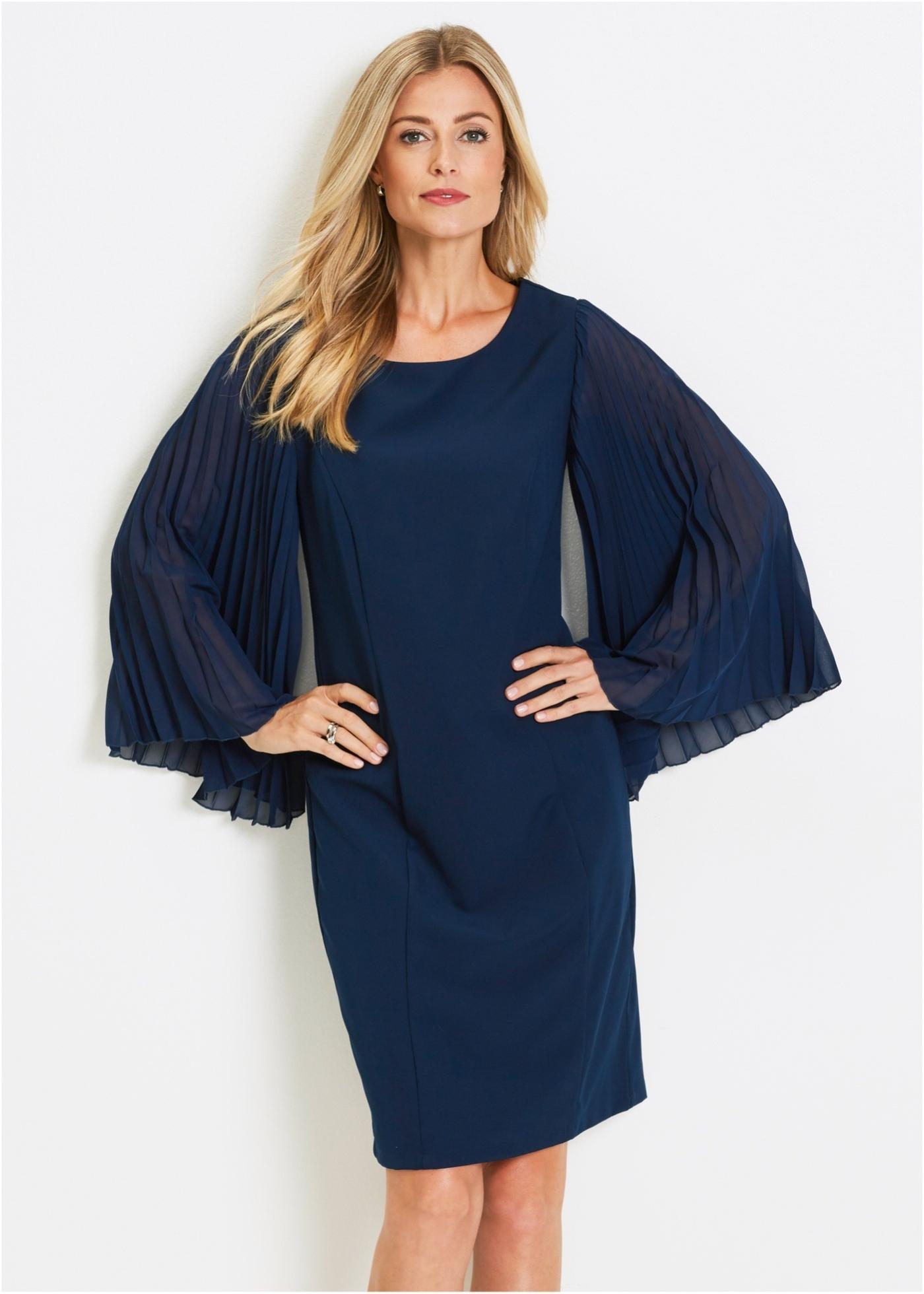 13 Elegant Kleid Dunkelblau Langarm Bester Preis20 Schön Kleid Dunkelblau Langarm für 2019