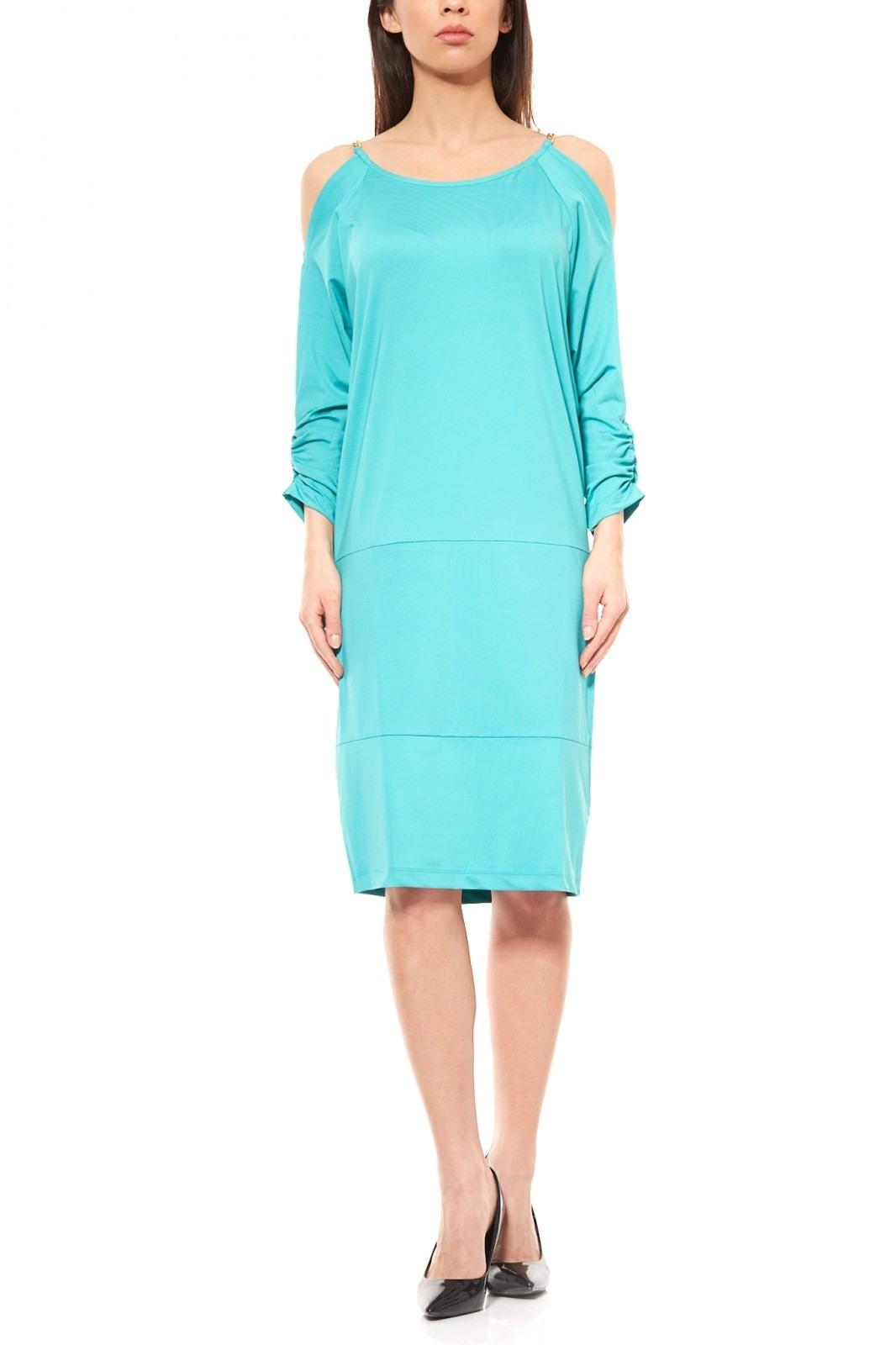 Schön Kleid Hellblau Knielang StylishAbend Luxurius Kleid Hellblau Knielang Design