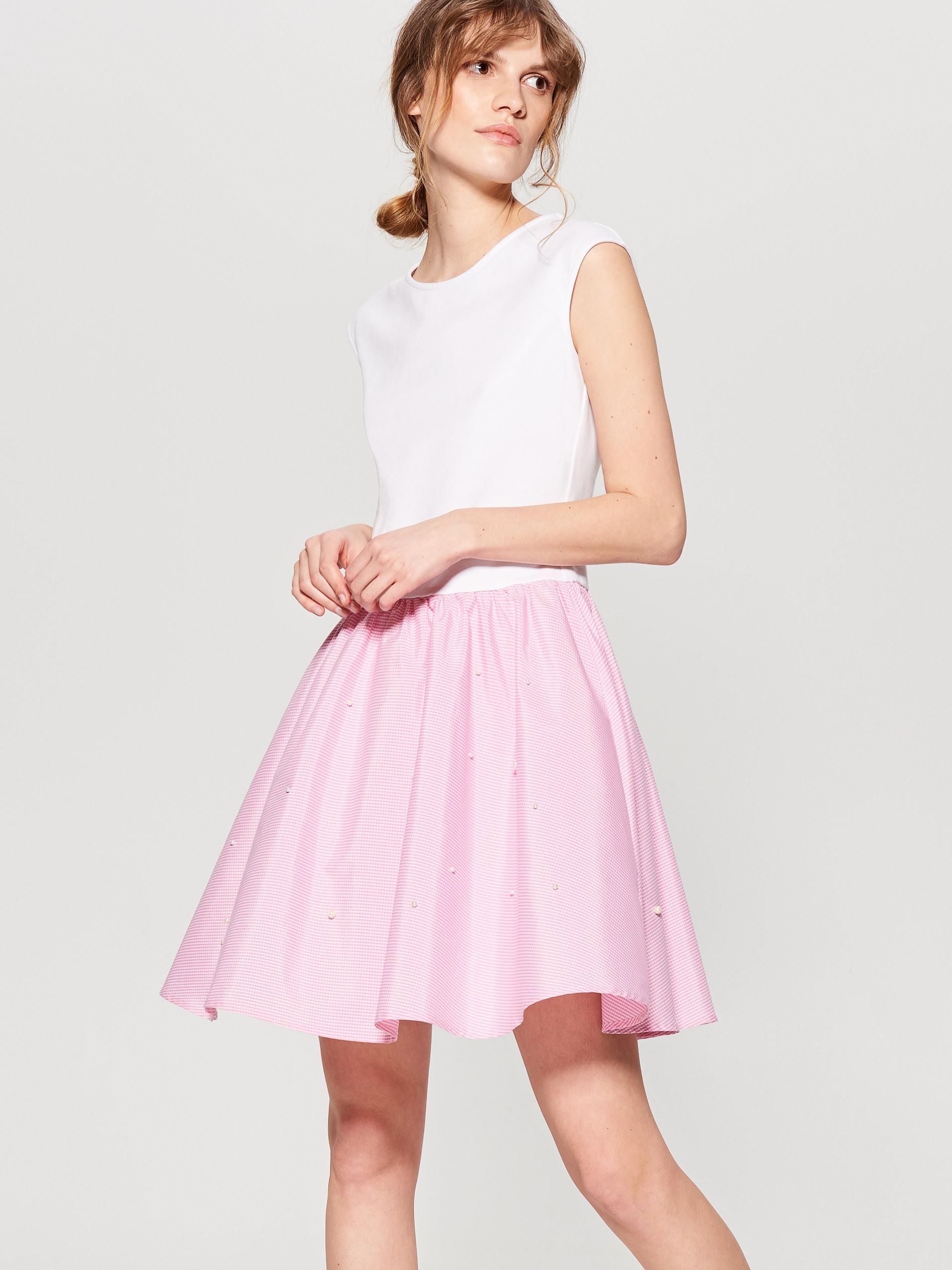 10 Schön Kleid Mit Glockenrock Spezialgebiet13 Leicht Kleid Mit Glockenrock Ärmel