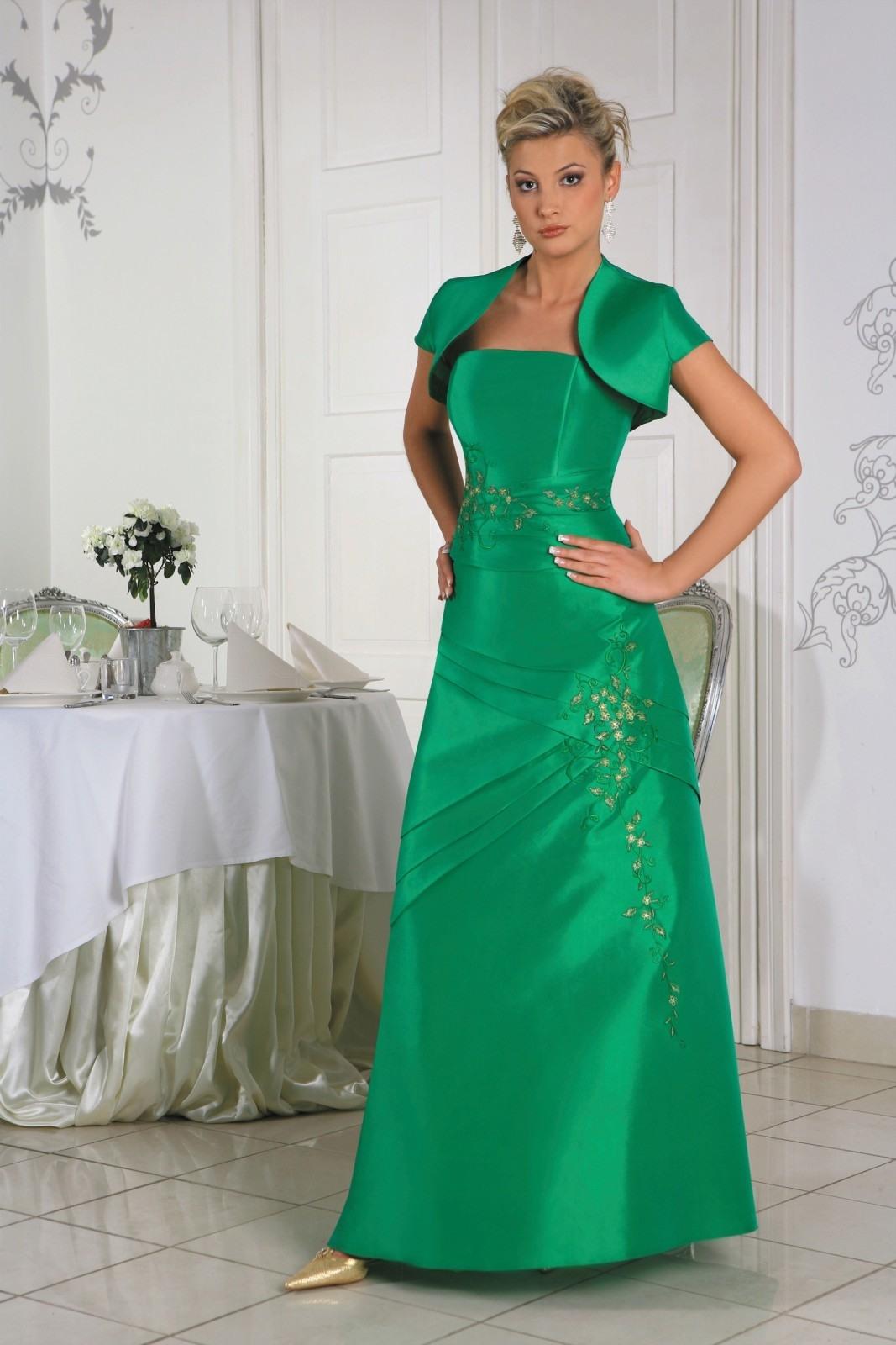 Formal Luxurius Abendkleid Mit Bolero Spezialgebiet - Abendkleid