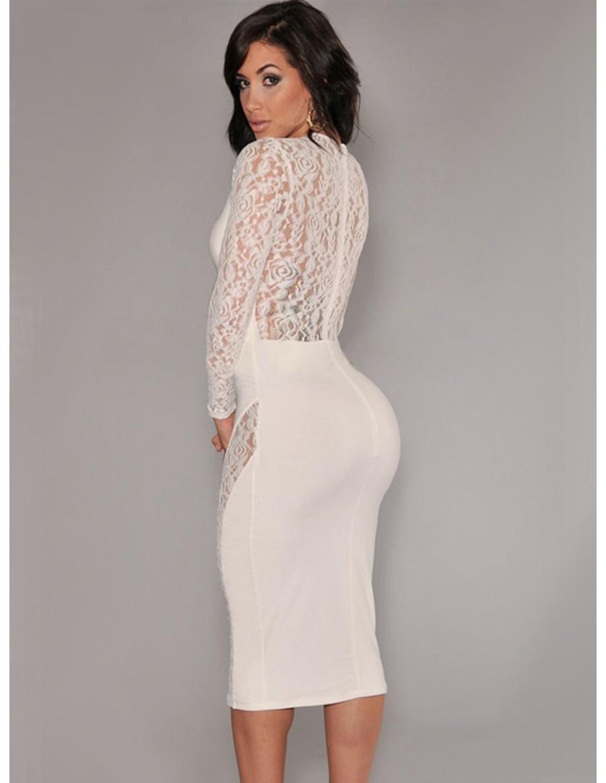 Formal Wunderbar Weißes Kleid Mit Ärmeln für 2019Abend Fantastisch Weißes Kleid Mit Ärmeln Stylish