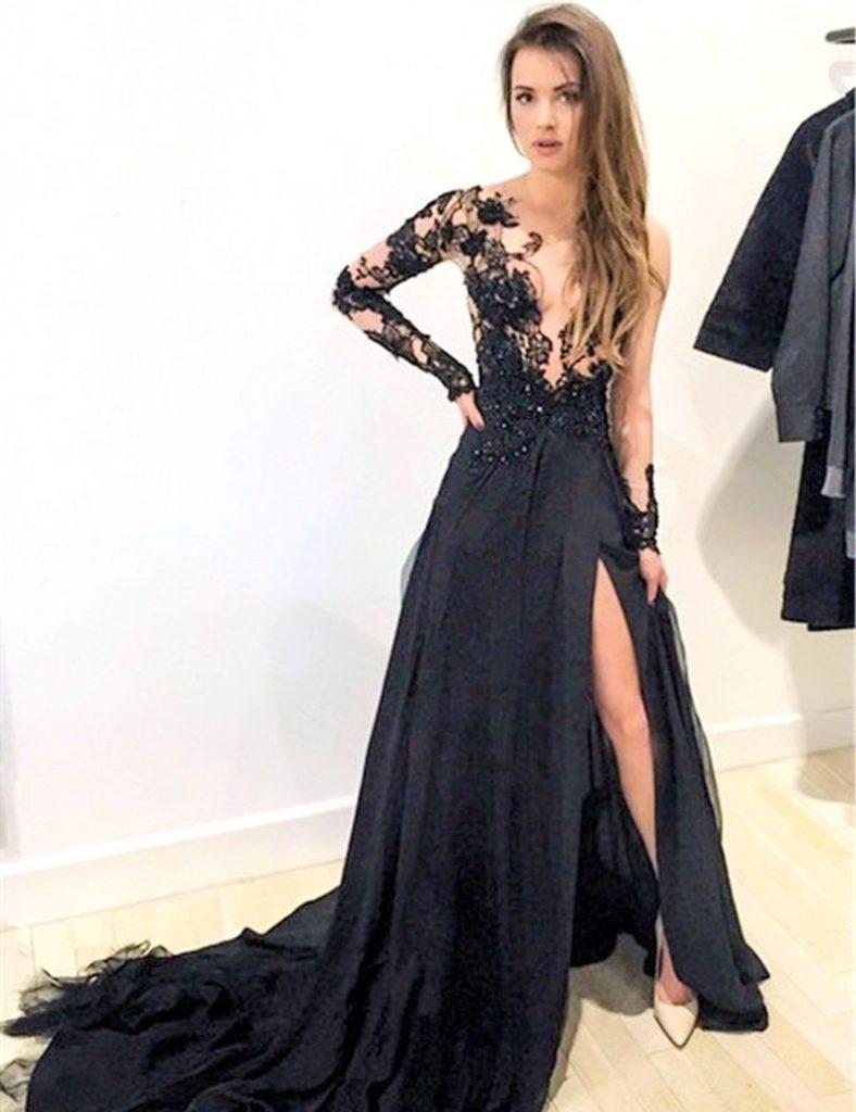 formal luxus ballkleider abendkleider Ärmel - abendkleid