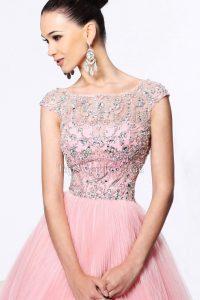 Abend Leicht Rosa Kleid Festlich BoutiqueAbend Luxurius Rosa Kleid Festlich Stylish