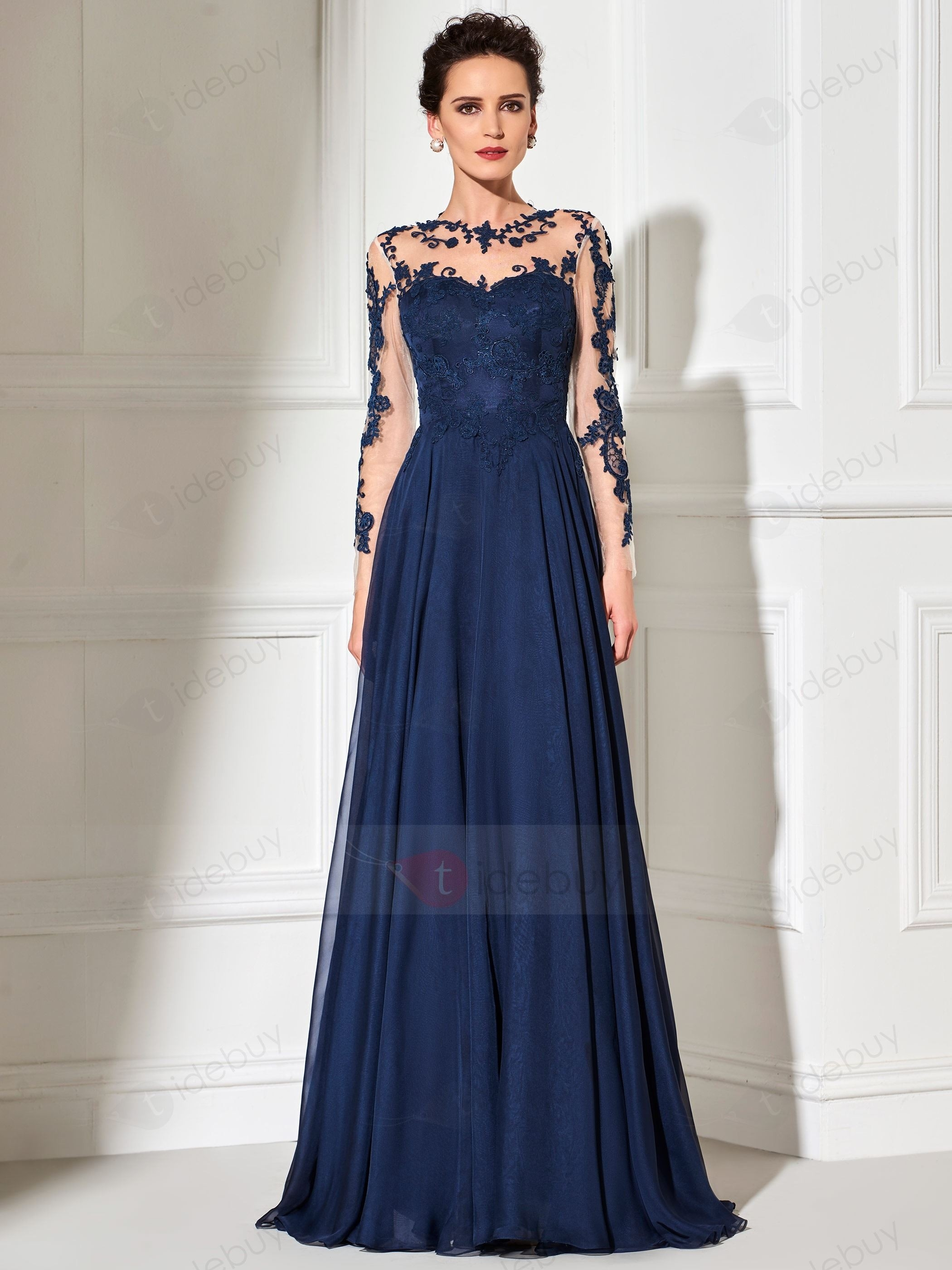 Formal Perfekt Abendkleider Lang Schwarz Günstig Bester Preis