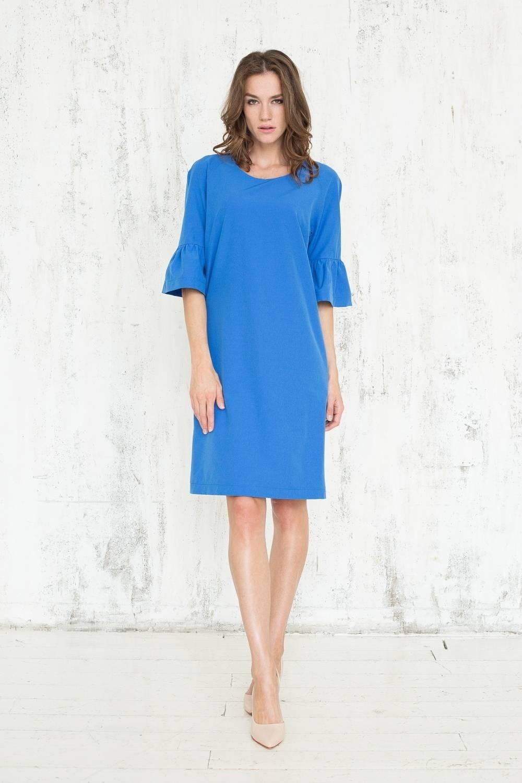 Formal Schön Blaues Kleid A Linie Design - Abendkleid
