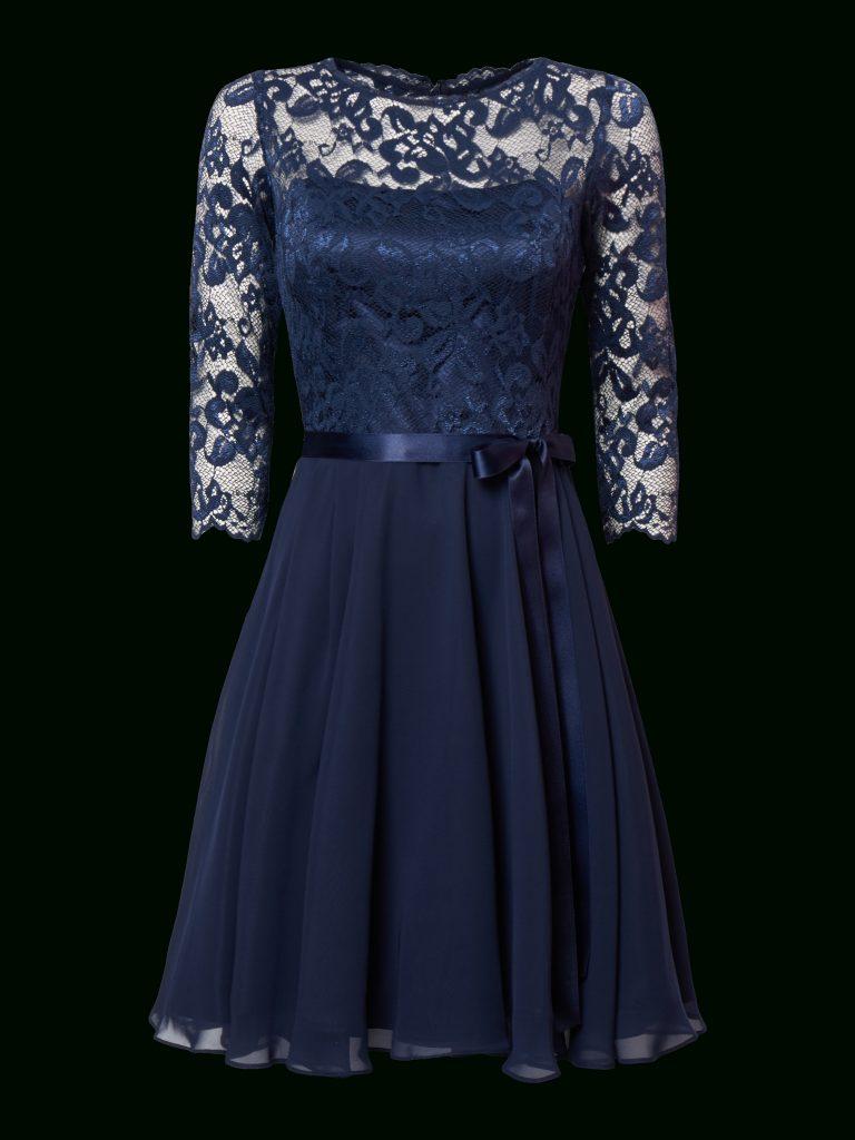 Formal Schön Blaues Kleid Mit Spitze Stylish Abendkleid