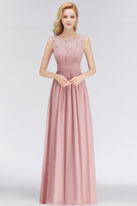 Formal Cool Kleid Altrosa Lang Design10 Schön Kleid Altrosa Lang Design