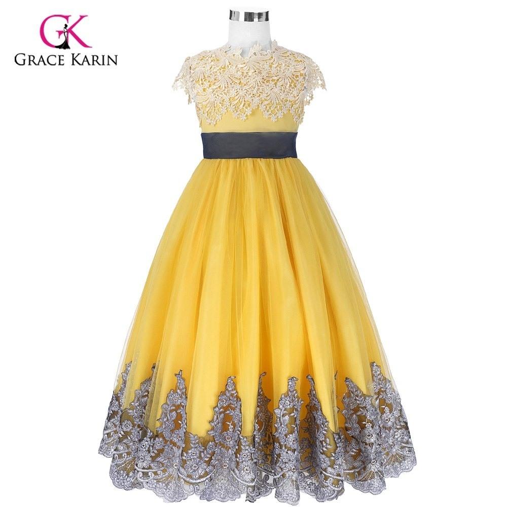 Abend Kreativ Kleid Gelb Hochzeit StylishAbend Kreativ Kleid Gelb Hochzeit für 2019