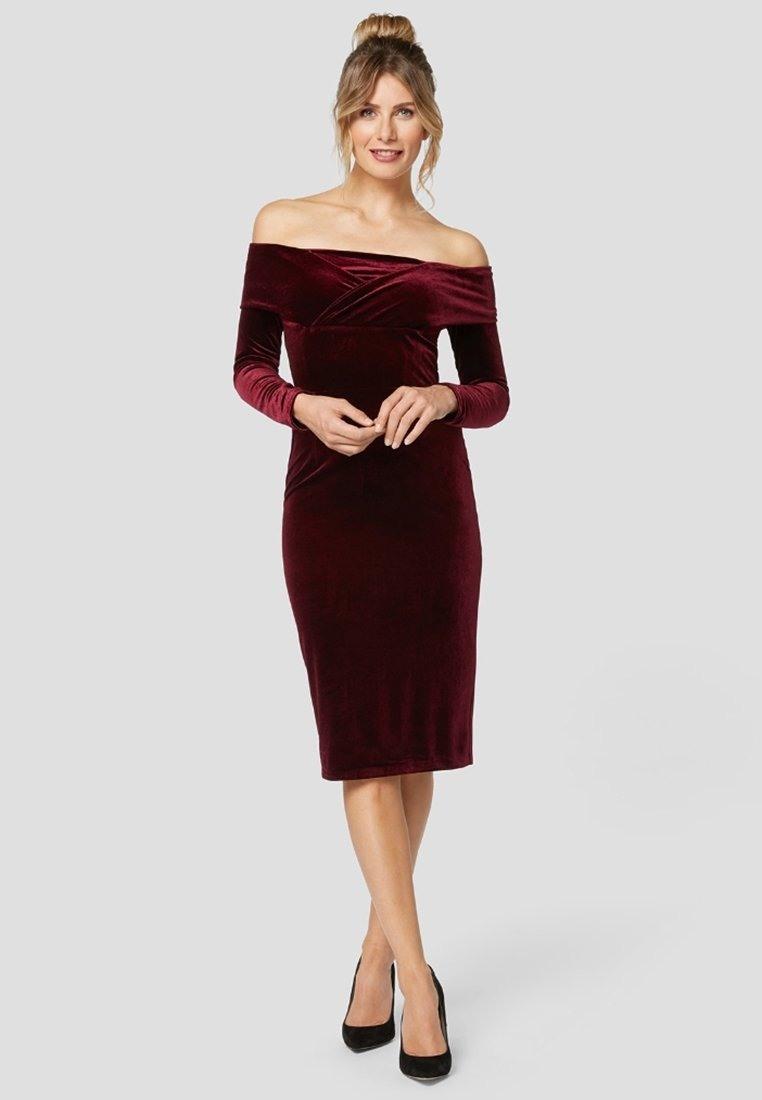 20 Großartig Kleid Rot Festlich Galerie17 Perfekt Kleid Rot Festlich Ärmel