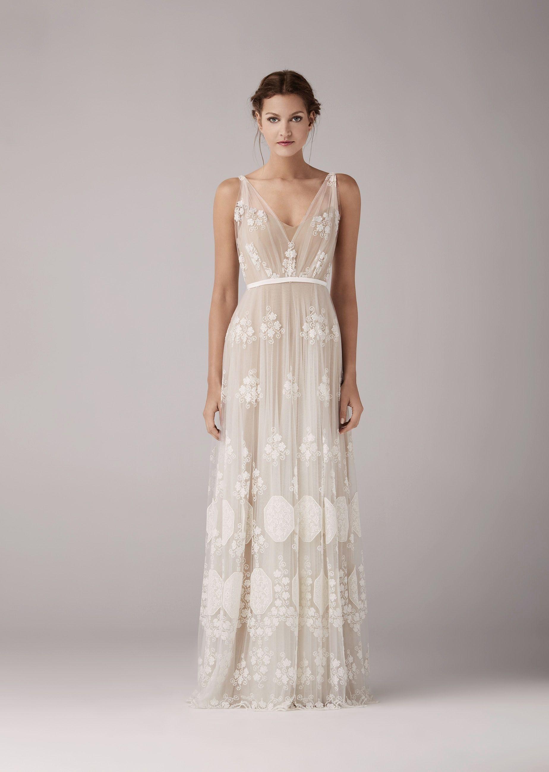 13 Kreativ Schlichte Hochzeitskleider GalerieFormal Fantastisch Schlichte Hochzeitskleider für 2019