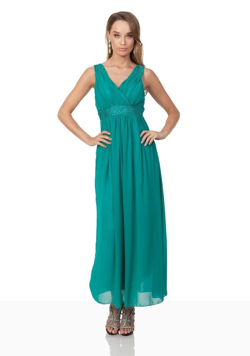 Abend Luxus Abendkleid Türkis Boutique Top Abendkleid Türkis Vertrieb