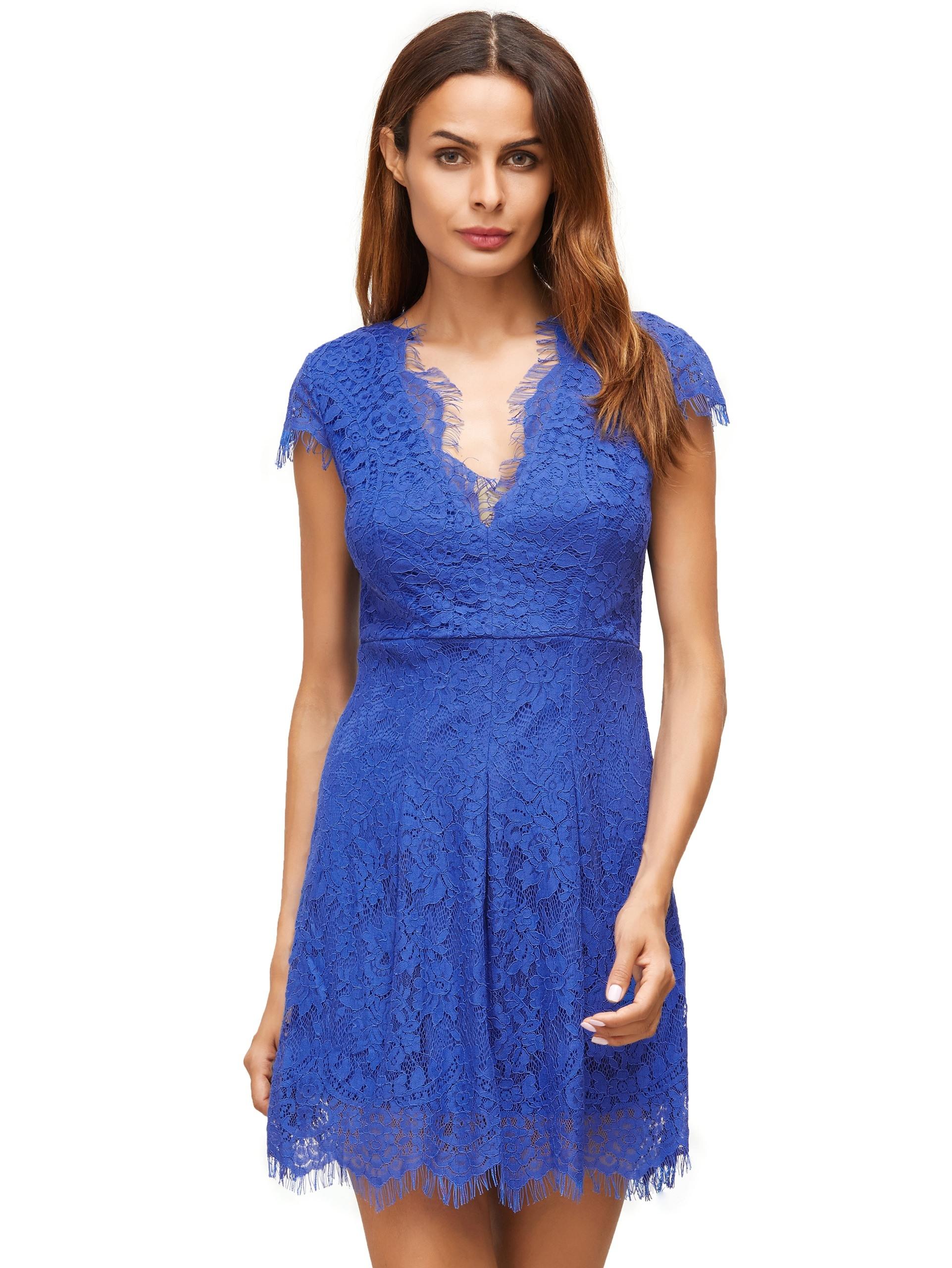 20 Ausgezeichnet Kleid Kurz Spitze Galerie13 Luxurius Kleid Kurz Spitze Ärmel