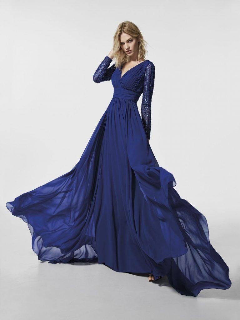langes blaues kleid 199f199cf19