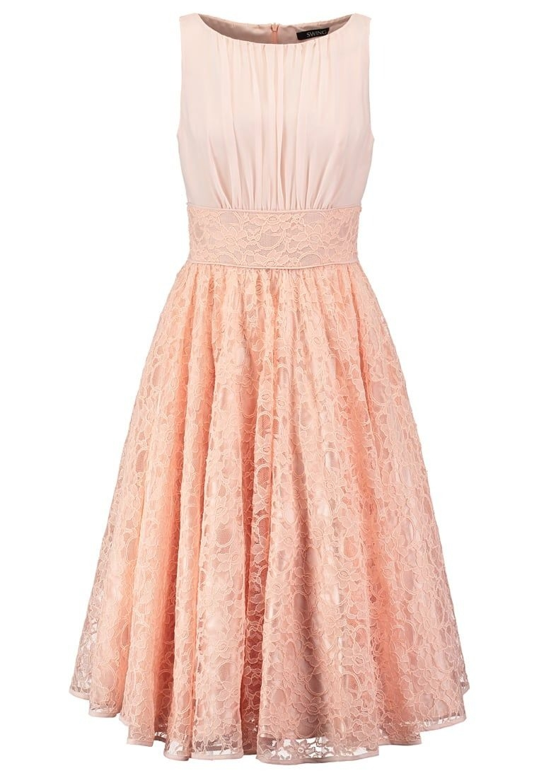 Schön Kleid Rosa Spitze Kurz Design20 Luxus Kleid Rosa Spitze Kurz Vertrieb